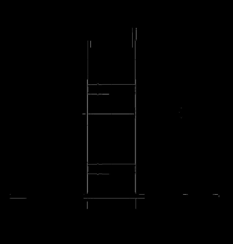 Вариант сборки для ПВУ 350 ЕС и габаритные размеры