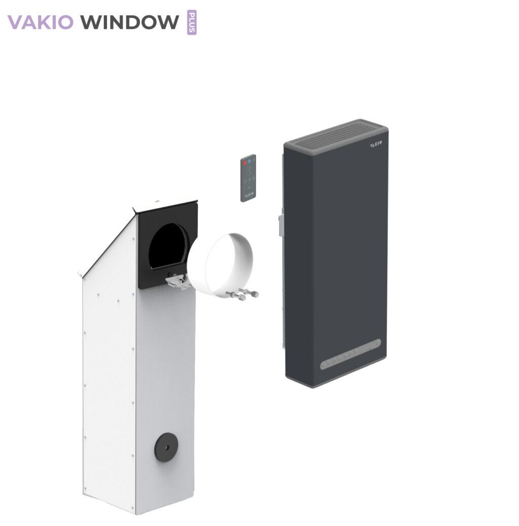 Vakio window plus серый