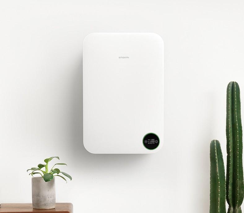 Очиститель Xiaomi Smartmi Fresh Air System Wall Mounted 1